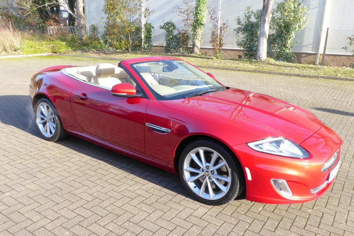 2012 Jaguar XK 5.0 Convertible Portfolio. 23,800 Miles Only SOLD (picture 1 of 6)