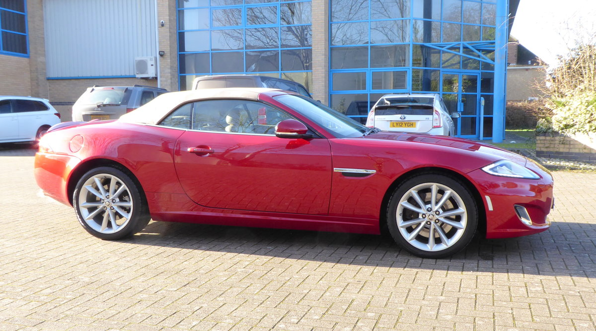 2012 Jaguar XK 5.0 Convertible Portfolio. 23,800 Miles Only SOLD (picture 2 of 6)