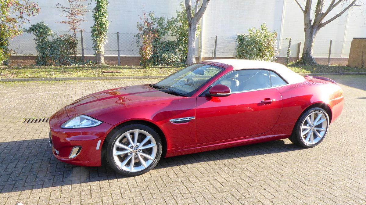 2012 Jaguar XK 5.0 Convertible Portfolio. 23,800 Miles Only SOLD (picture 3 of 6)