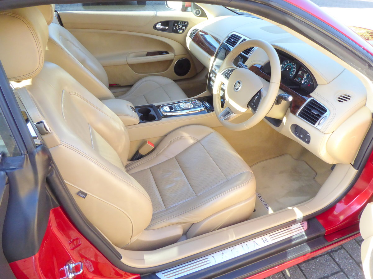 2012 Jaguar XK 5.0 Convertible Portfolio. 23,800 Miles Only SOLD (picture 5 of 6)
