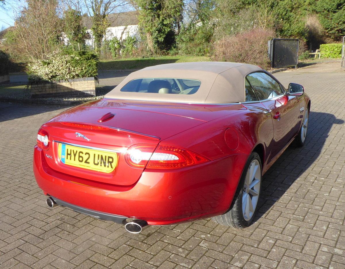 2012 Jaguar XK 5.0 Convertible Portfolio. 23,800 Miles Only SOLD (picture 6 of 6)