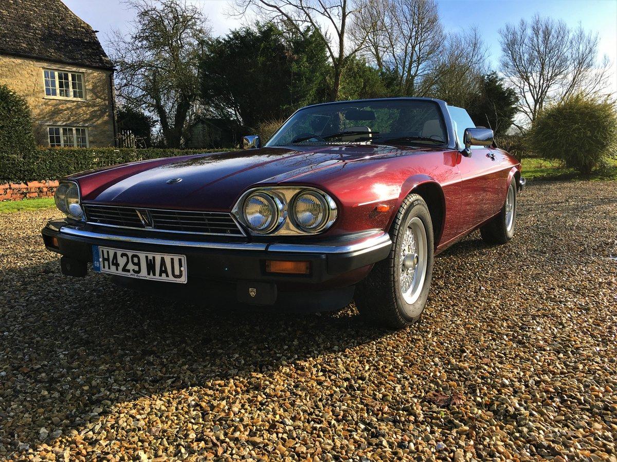 1991 Jaguar XJS convertible SOLD (picture 1 of 6)