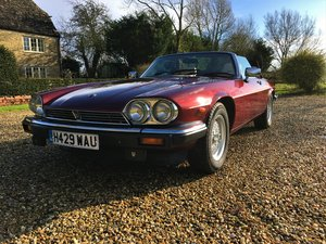 1991 Jaguar XJS convertible For Sale