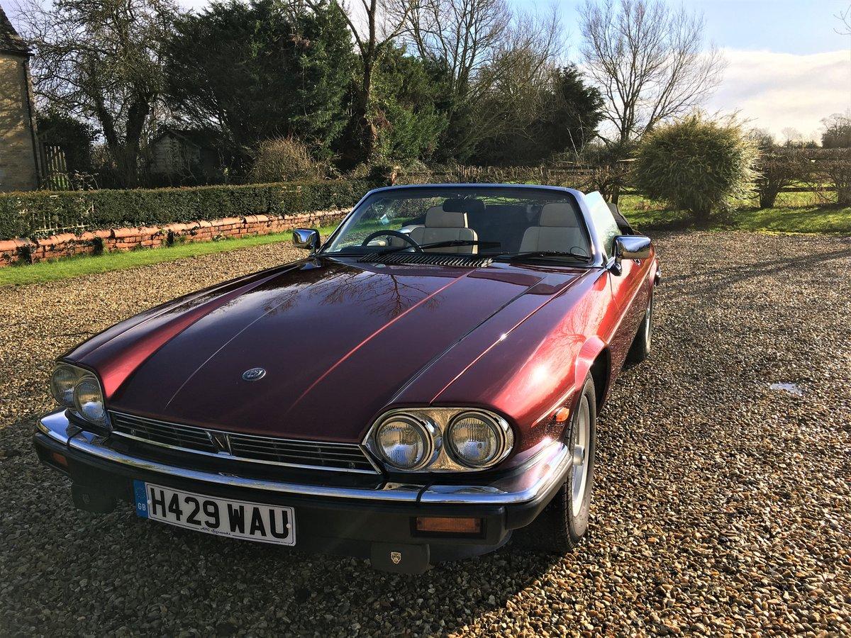 1991 Jaguar XJS convertible SOLD (picture 3 of 6)