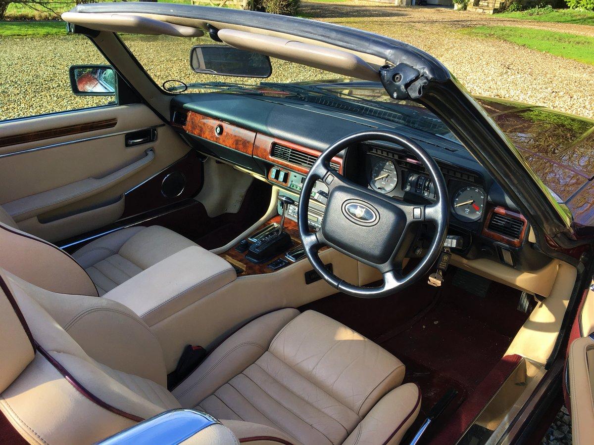 1991 Jaguar XJS convertible SOLD (picture 5 of 6)