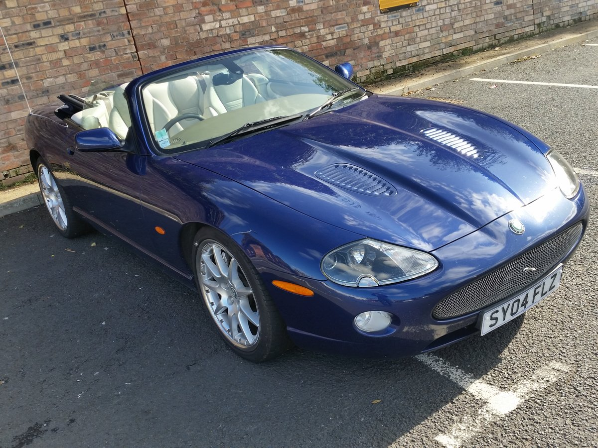 2004 Jaguar XKR 4.2 Supercharged Convertible - Immaculate For Sale (picture 1 of 6)