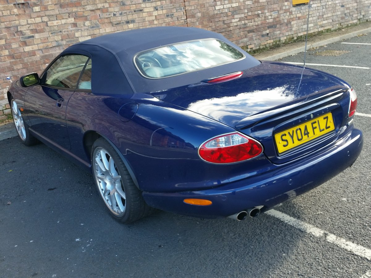 2004 Jaguar XKR 4.2 Supercharged Convertible - Immaculate For Sale (picture 2 of 6)