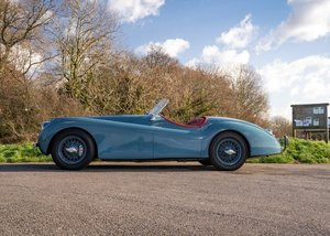 1954 Jaguar XK120 SE Roadster For Sale by Auction