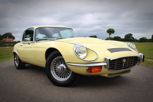 1973 Jaguar E-type Series III Fixed Head Coupe. For Sale