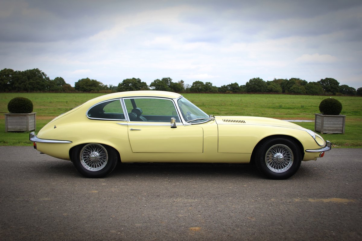 1973 Jaguar E-type Series III Fixed Head Coupe. For Sale (picture 3 of 5)