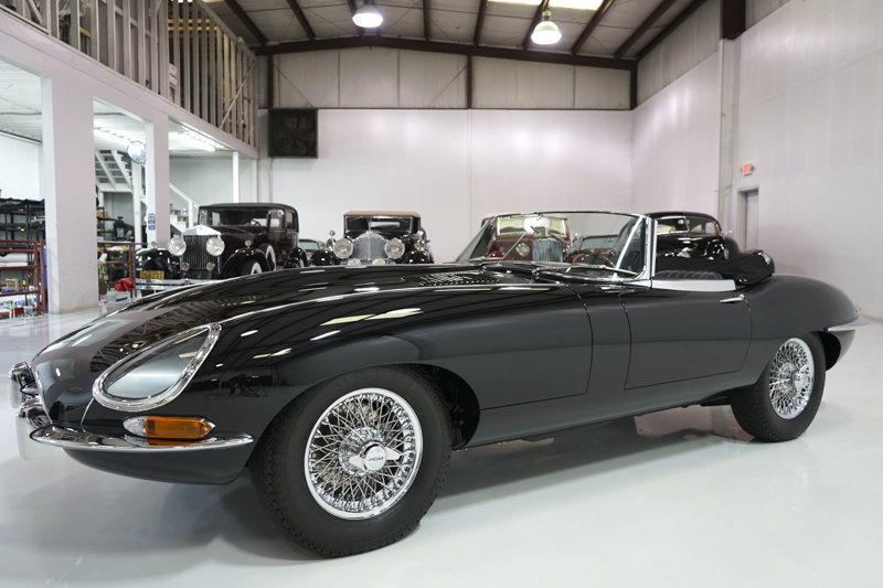 1966 Jaguar E-Type Series I 4.2-Litre Roadster For Sale (picture 1 of 6)