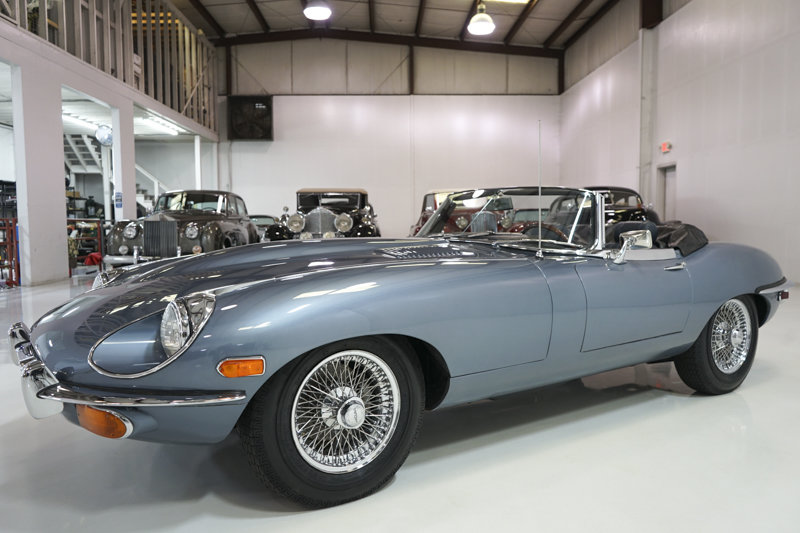 1969 Jaguar E-Type Series II 4.2-Litre Roadster For Sale (picture 1 of 6)