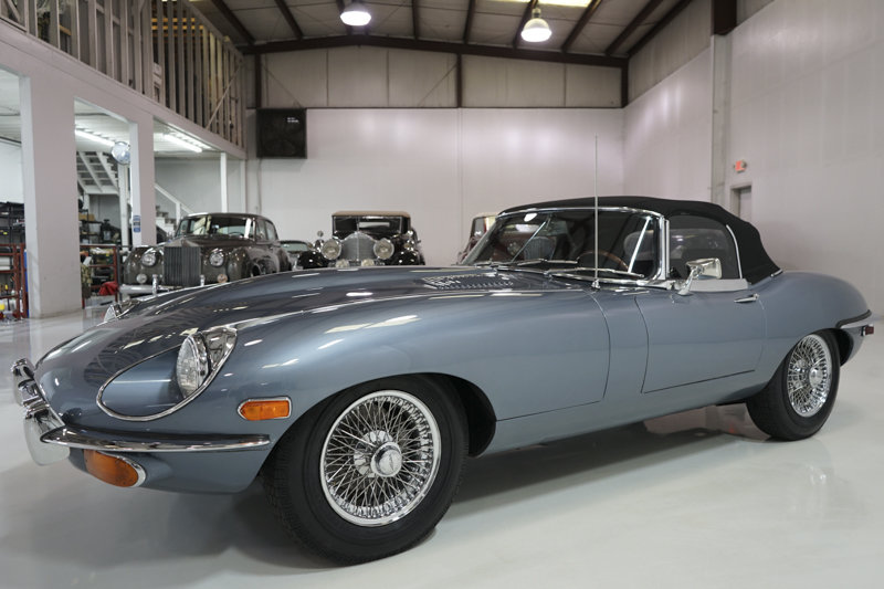 1969 Jaguar E-Type Series II 4.2-Litre Roadster For Sale (picture 3 of 6)