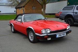 1992 Jaguar XJS V12 Convertible For Sale by Auction