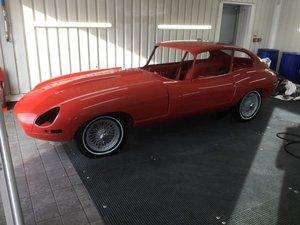 1968 Jaguar E-Type S1 2+2 Coupe  For Sale by Auction