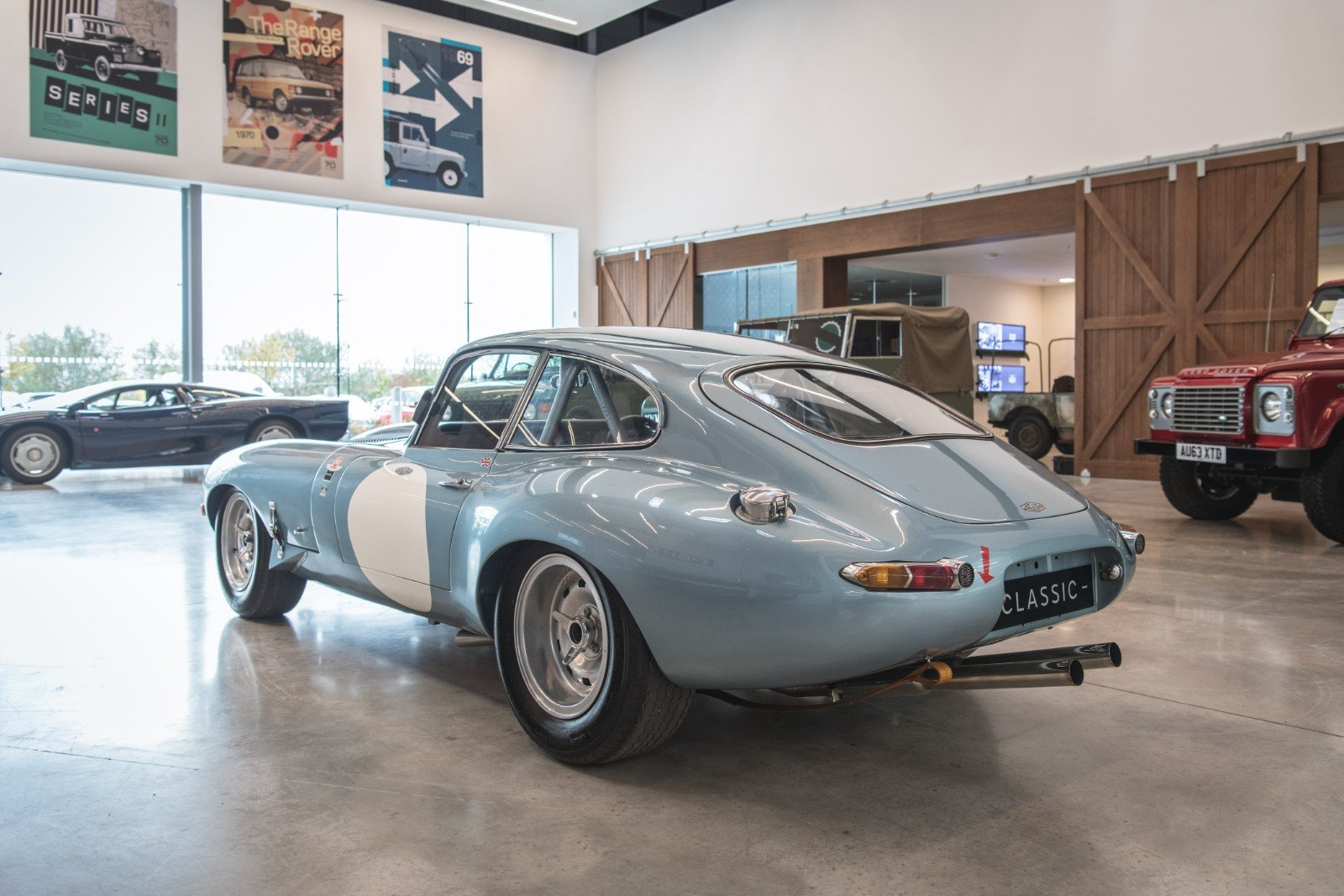 1962 E-Type Semi Lightweight Specification FIA Papers For Sale (picture 2 of 6)