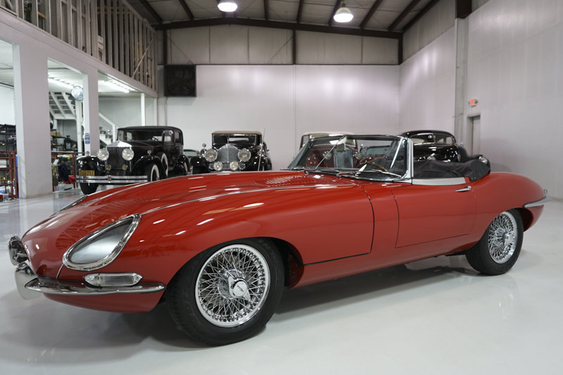 1967 Jaguar E-Type Series I 4.2-Litre Roadster For Sale (picture 1 of 6)