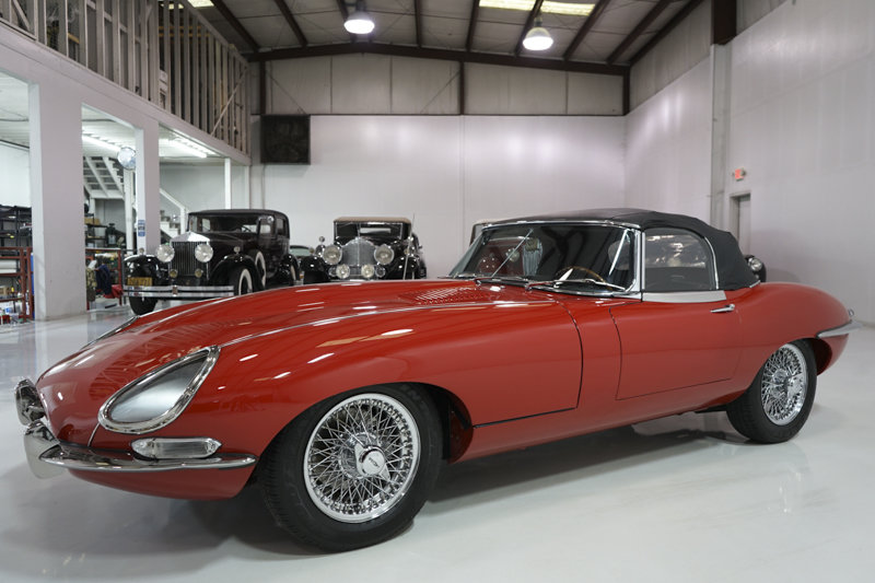 1967 Jaguar E-Type Series I 4.2-Litre Roadster For Sale (picture 3 of 6)