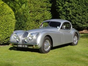 1953 Jaguar XK120 Fixed Head Coupe For Sale by Auction