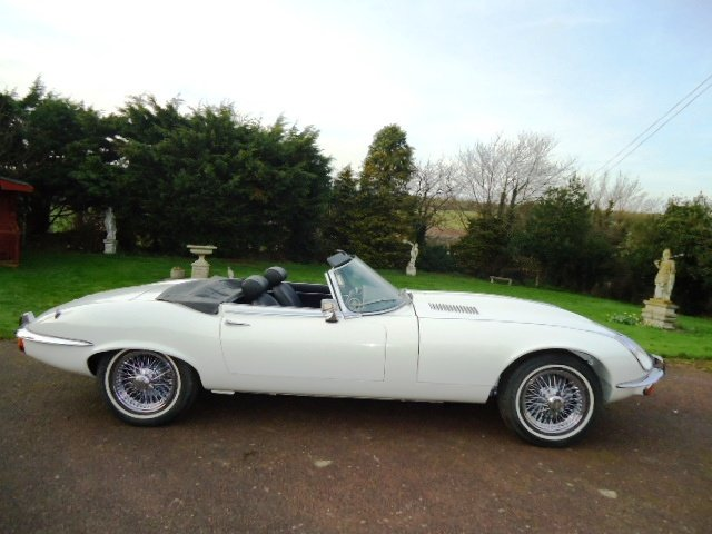 1973 E Type V12 Roadster For Sale (picture 2 of 6)
