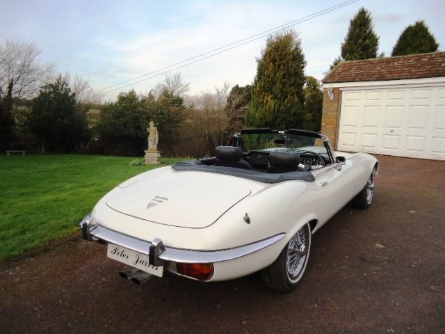 1973 E Type V12 Roadster For Sale (picture 3 of 6)