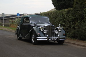 1951 Jaguar MkV, 35k spent in last 5 years, New Mohair Hood For Sale