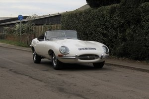 1967 Jaguar E-Type Series I 4.2 Roadster, 63k warranted miles