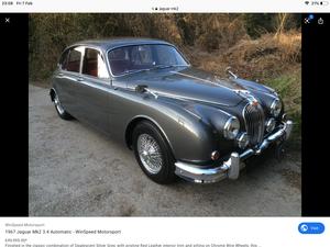 1960 Wanted Wanted Wanted mk2 Jaguar