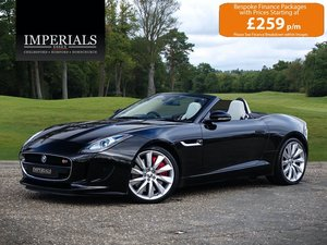 2013 Jaguar  F-TYPE  3.0 V6 S CABRIOLET AUTO  31,948 For Sale
