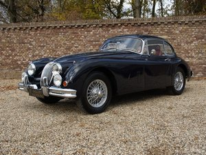 1959 Jaguar XK 150 FHC 3.4 SE matching numbers, factory overdrive For Sale