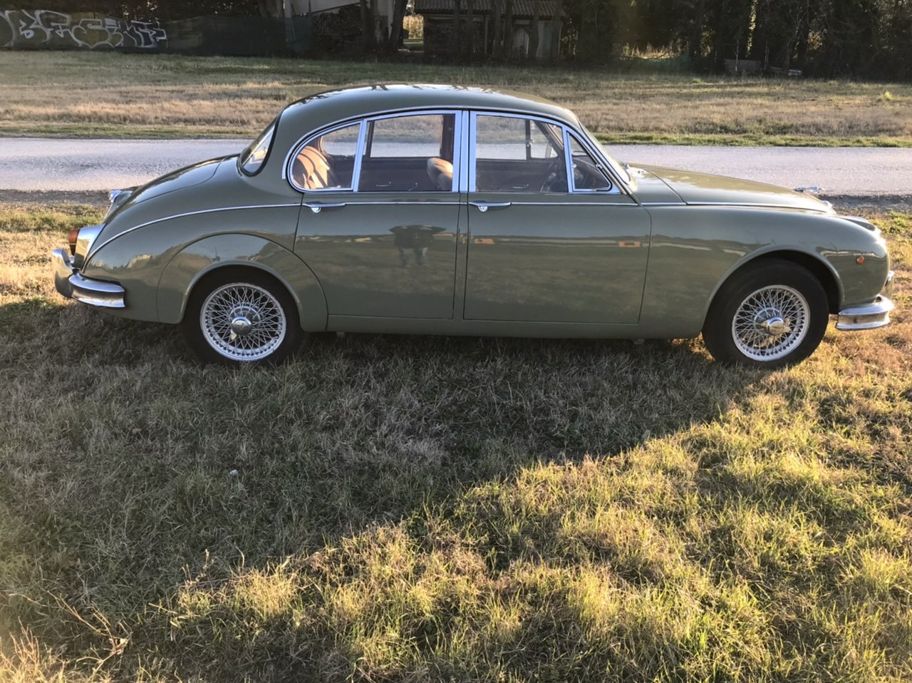 1968 Very nice original 2,4 L Jaguar Mk2 lhd For Sale (picture 2 of 6)