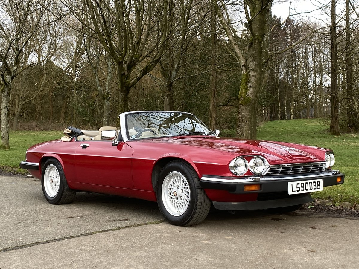 1993 Jaguar XJS V12 Convertible Imaculate example For Sale (picture 1 of 6)