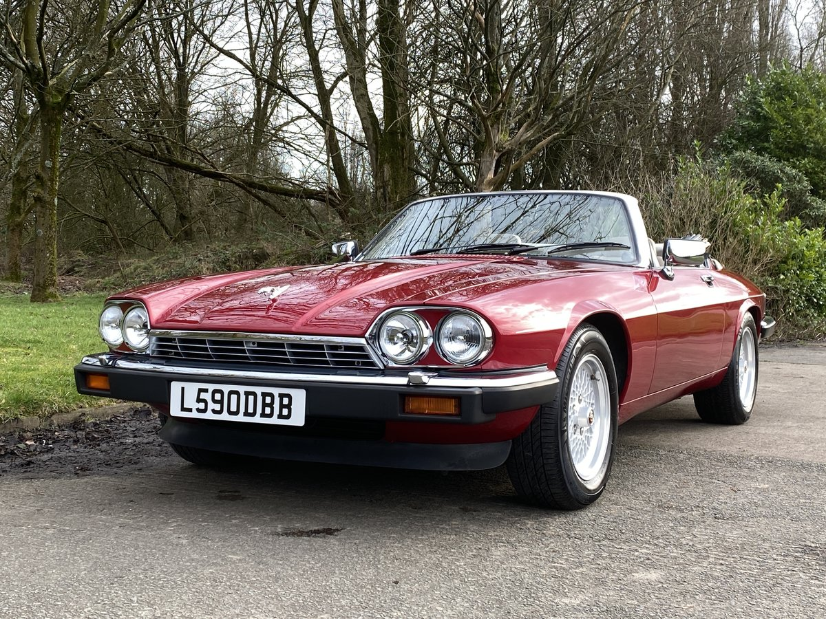 1993 Jaguar XJS V12 Convertible Imaculate example For Sale (picture 3 of 6)