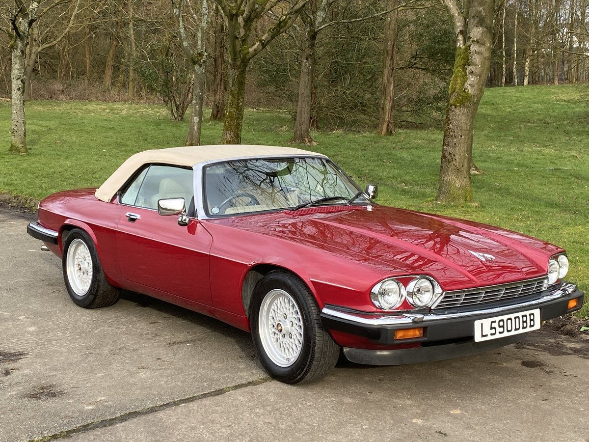 1993 Jaguar XJS V12 Convertible Imaculate example For Sale (picture 4 of 6)