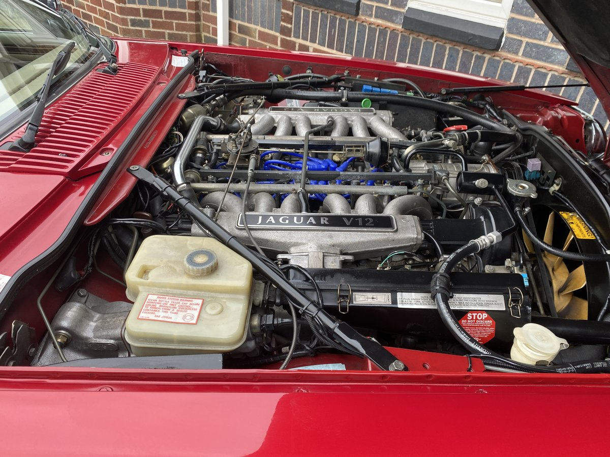 1993 Jaguar XJS V12 Convertible Imaculate example For Sale (picture 6 of 6)