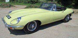 1970 Jaguar E type 4.2 S2 Convertible  Gen  RHD  48,900 miles