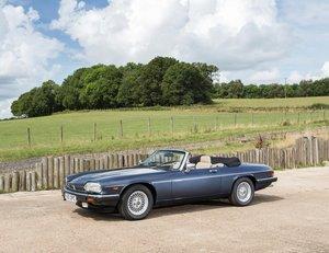 1989 Jaguar XJS Convertible - 25,000 miles & 2 Owners For Sale by Auction