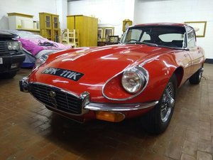 1971 Jaguar E Type Series III for auction Friday 27th March For Sale by Auction