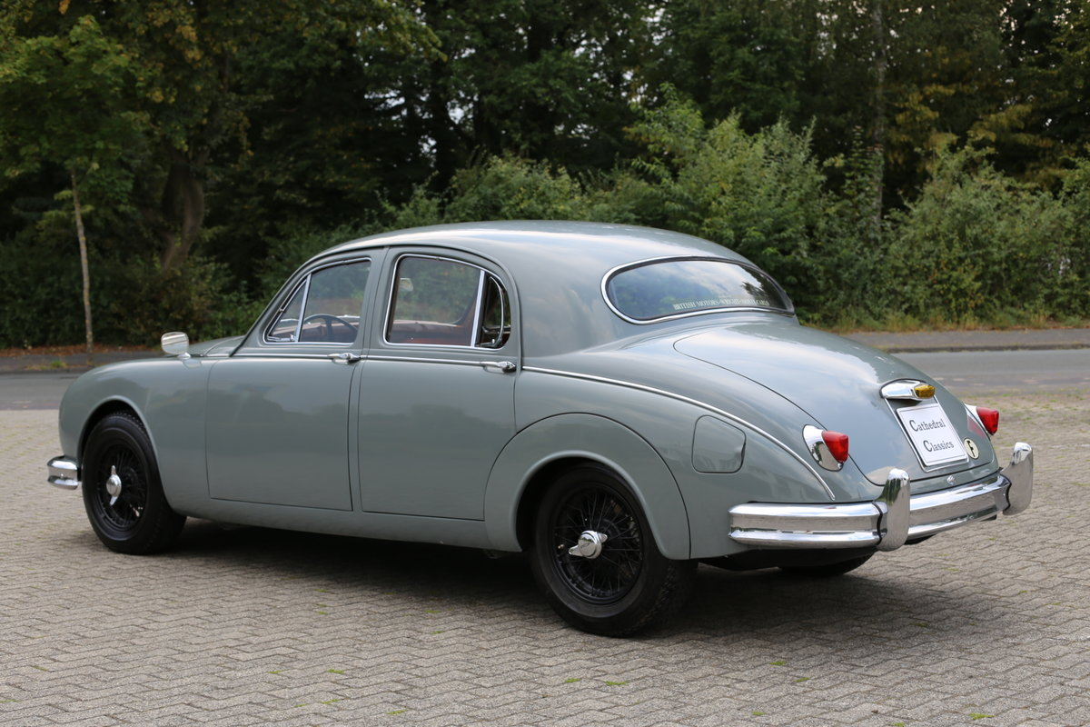 1959 Jaguar MK1 2.4 with exquisite French history SOLD (picture 2 of 6)