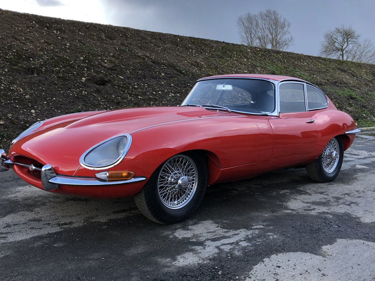 1967 Jaguar E-Type S1 4.2 Coupe - SOLD SOLD (picture 1 of 6)