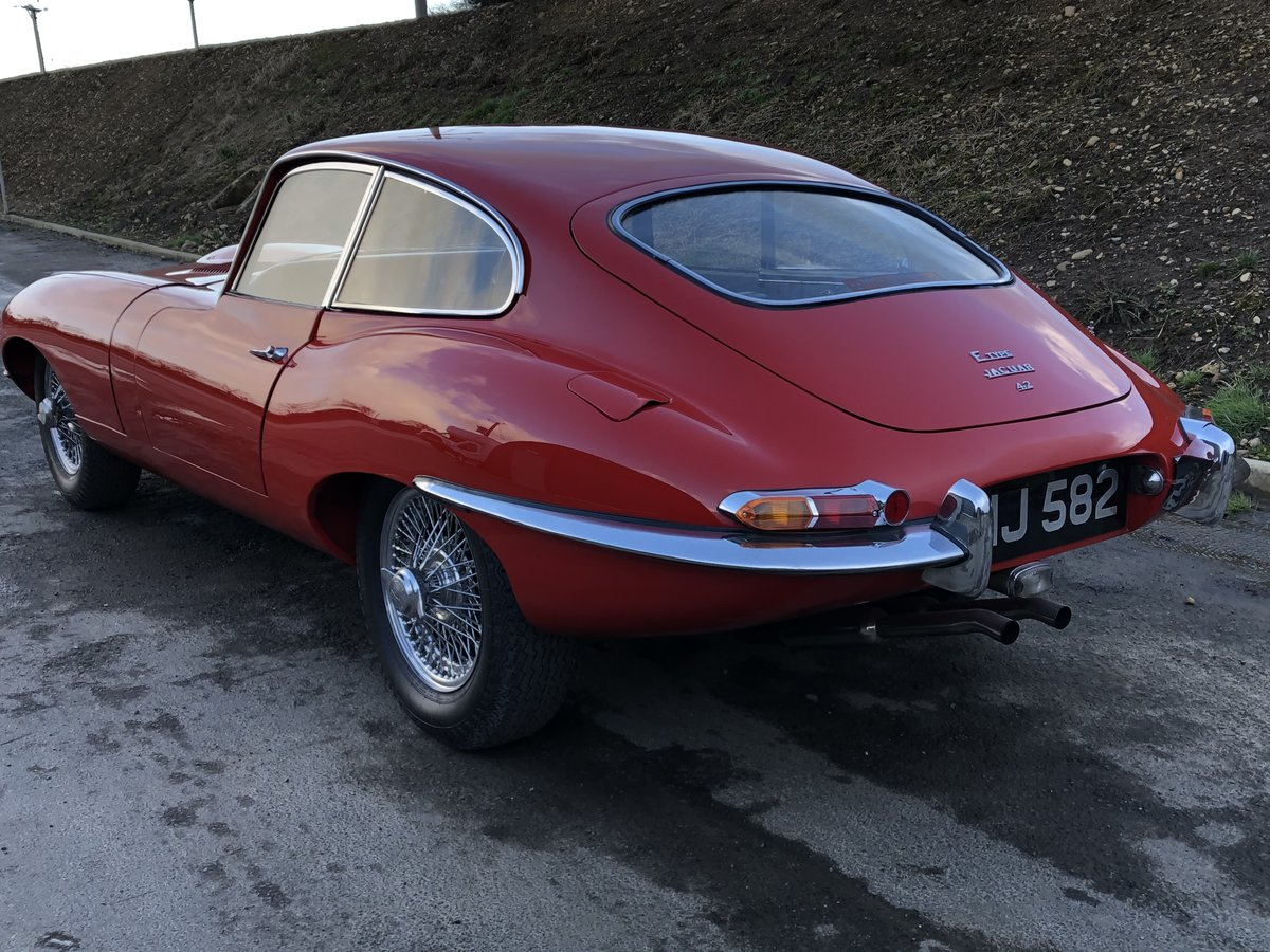 1967 Jaguar E-Type S1 4.2 Coupe - SOLD SOLD (picture 2 of 6)
