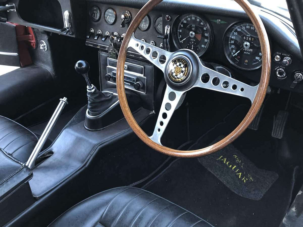 1967 Jaguar E-Type S1 4.2 Coupe - SOLD SOLD (picture 5 of 6)