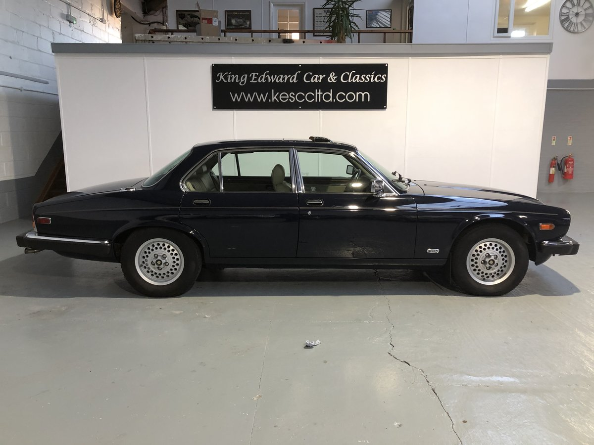 1990 Jaguar xj12 vanden plas only 54000 km L/h/d   For Sale (picture 3 of 6)