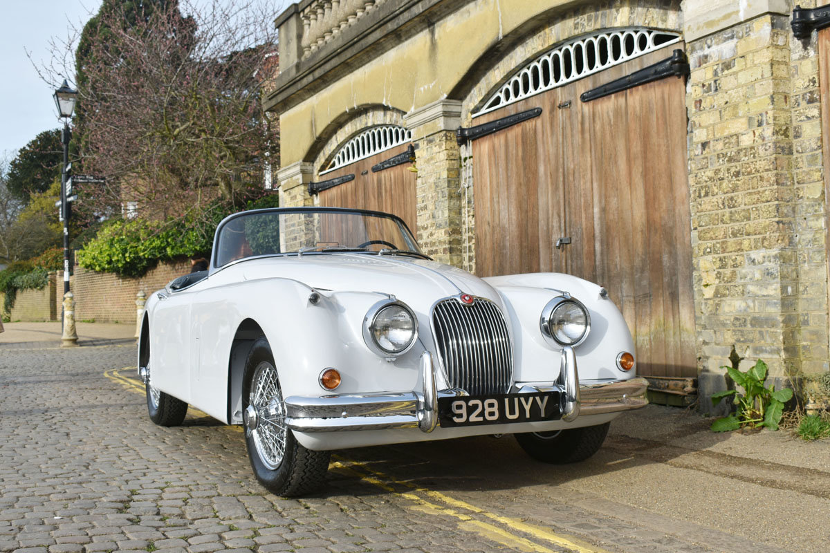 1958 Jaguar XK150 Roadster 22 Feb 2020 For Sale by Auction (picture 1 of 6)