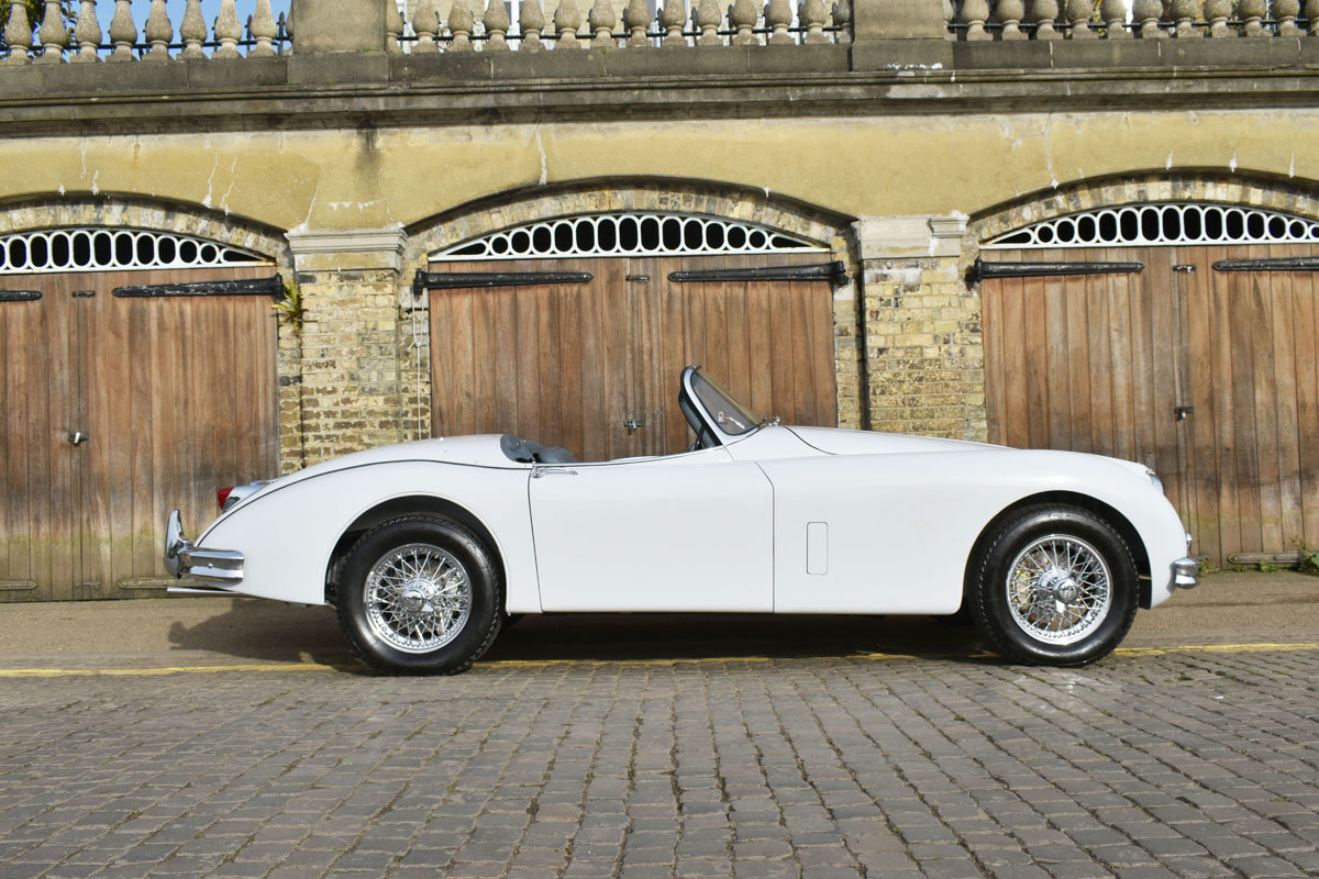 1958 Jaguar XK150 Roadster 22 Feb 2020 For Sale by Auction (picture 2 of 6)