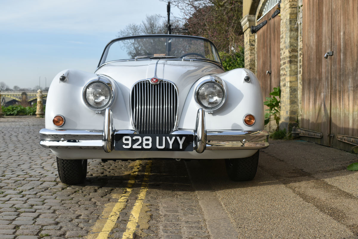 1958 Jaguar XK150 Roadster 22 Feb 2020 For Sale by Auction (picture 3 of 6)