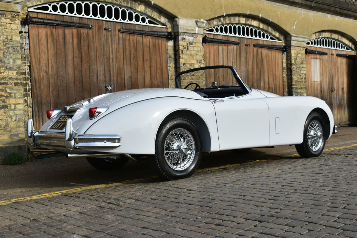 1958 Jaguar XK150 Roadster 22 Feb 2020 For Sale by Auction (picture 5 of 6)