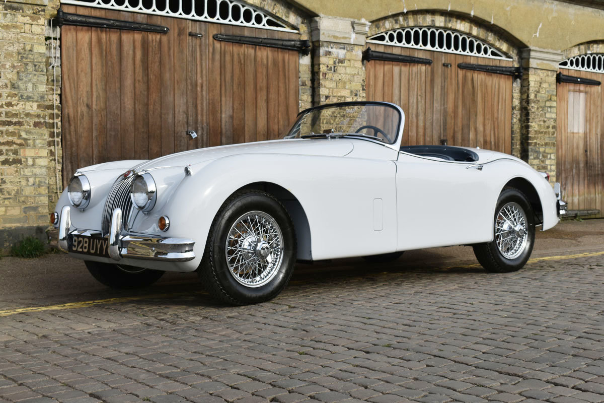 1958 Jaguar XK150 Roadster 22 Feb 2020 For Sale by Auction (picture 6 of 6)