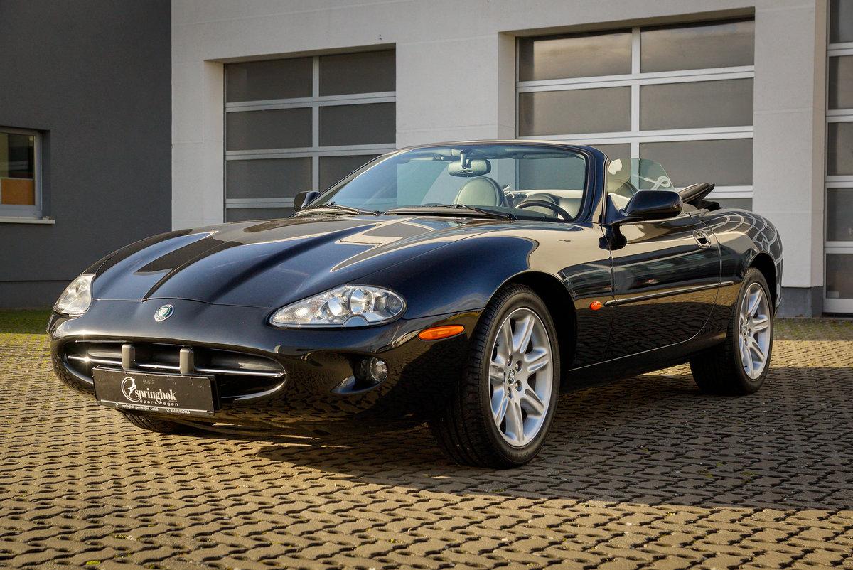 1999 Jaguar XK8 Cabriolet *5032 km*German del.*One Owner Car* For Sale (picture 1 of 6)