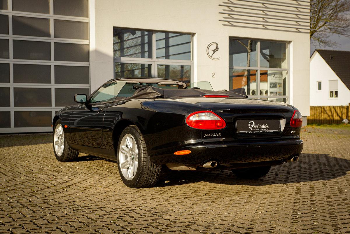 1999 Jaguar XK8 Cabriolet *5032 km*German del.*One Owner Car* For Sale (picture 3 of 6)